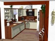 Kuchyně Komárek Zábřeh  návrhy 3D nábytek na míru 444