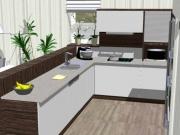 návrhy 3D nábytek na míru Kuchyně Komárek Jana Komárková s.r.o. z