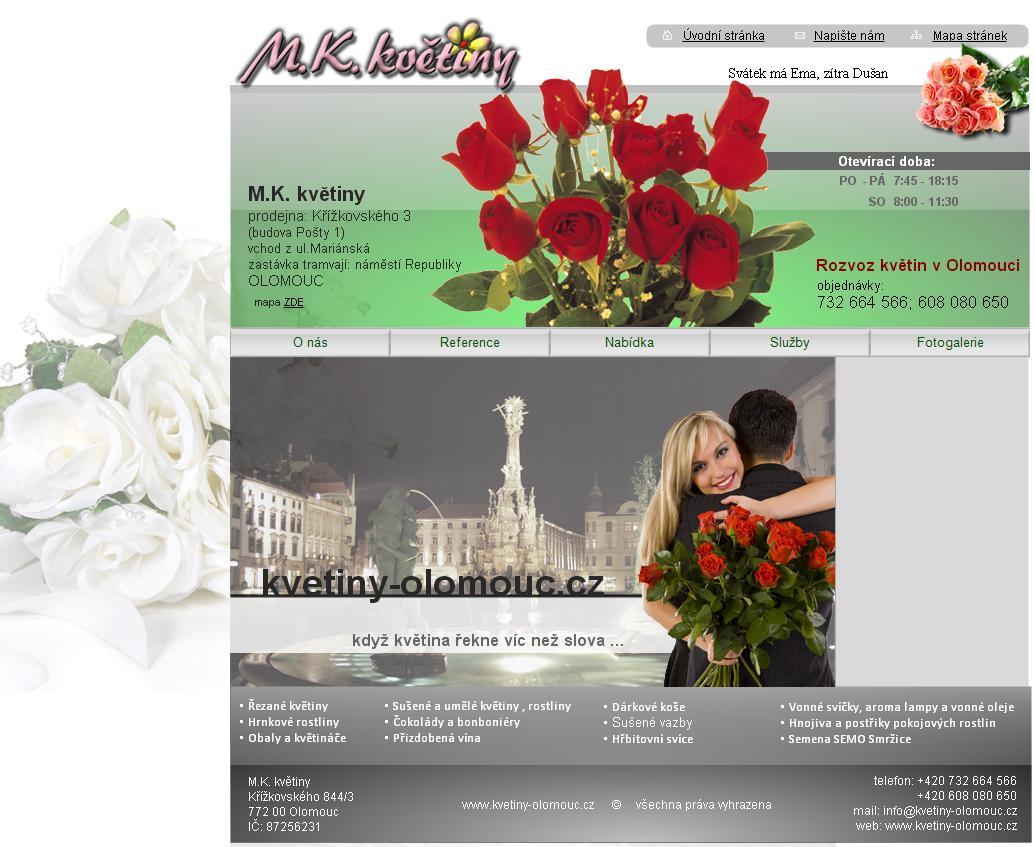 MK květiny